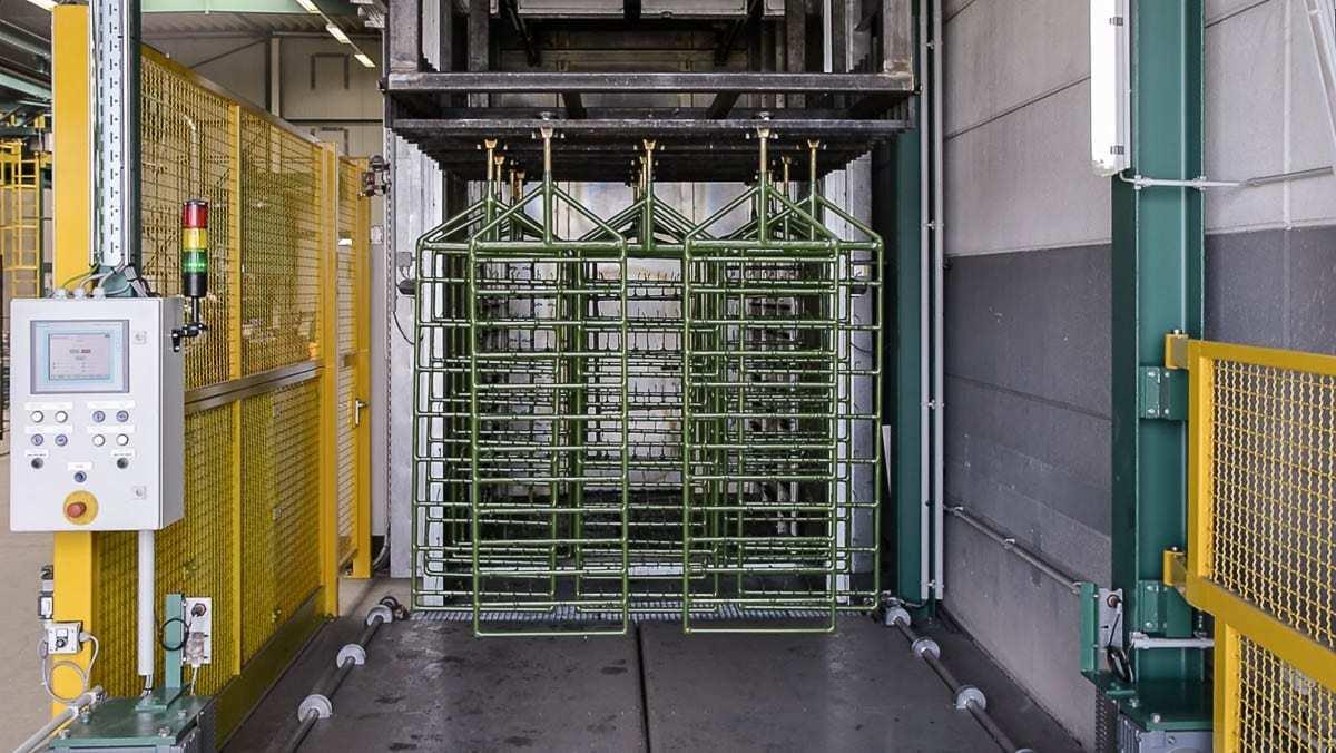 PVC Beschichtungsanlage 1