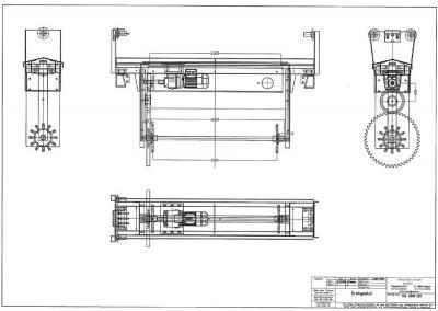 Drehgestell für Trommelanlagen
